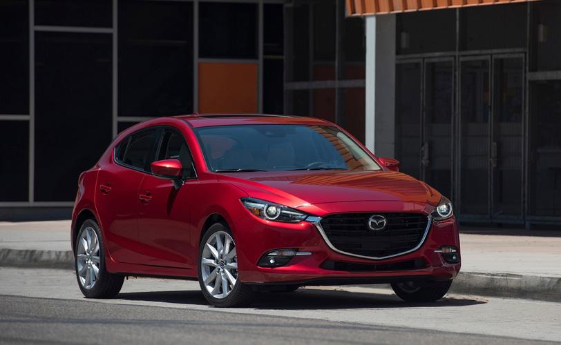 Mazda 3 ambition rouge modèle 2018