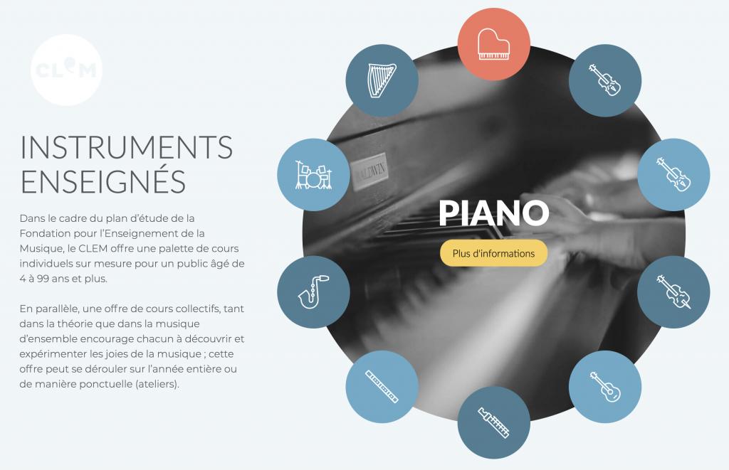 instruments site clem