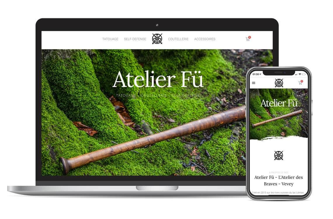 Atelier Fü - Présence web