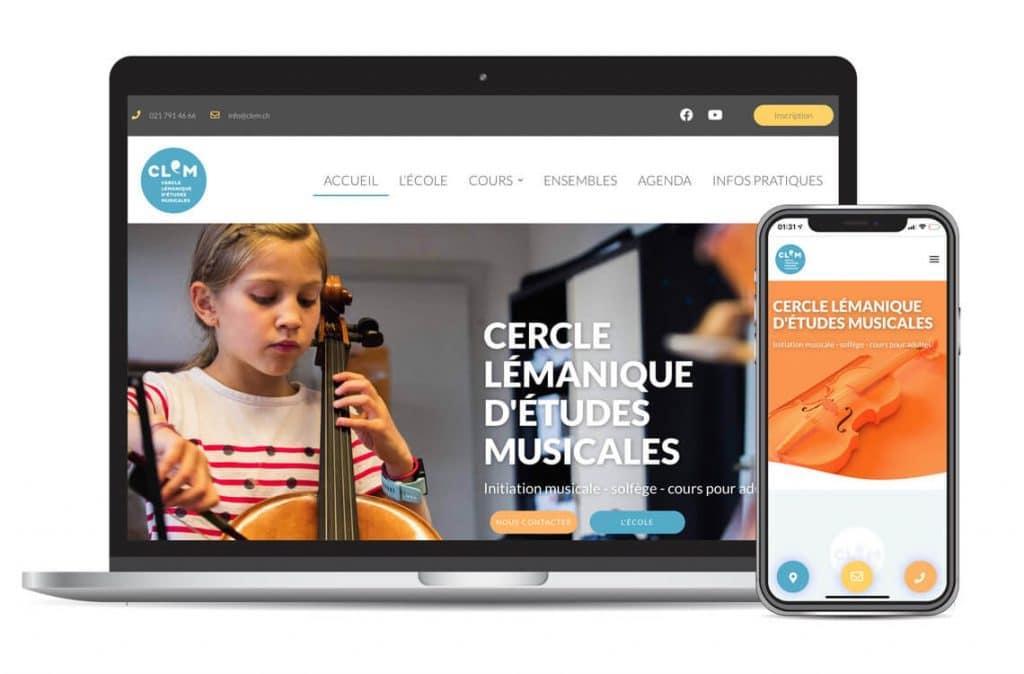 CLEM - Présence web